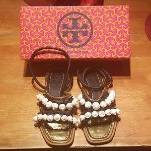 NEW Tory Burch Sinclair sandals. Size 7